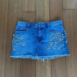 Free people skirt blue Jean ! As new - size S